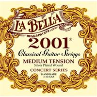 La Bella 2001 Medium Tension - strune za klasično kitaro