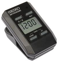 SEIKO DM51 Silver digitalni CLIP-on METRONOM